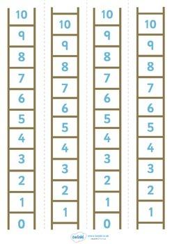Number Ladder (0-10)