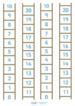 Number Ladder 0-20
