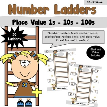 Number Ladders using Place Value 1-10-100