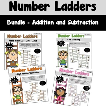Number Ladders_Add/Subtract Bundled Pack