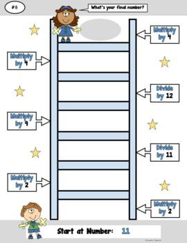 Number Ladders_Multiply/Divide Bundled Pack