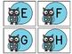 Alphabet & Number Labels: Owl-Themed