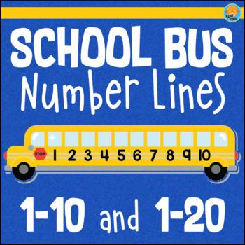 Number Line Poster 0-20