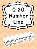 Number Line 0-20