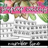 Number Line 0-200 | Shiplap Cactus Classroom Decor