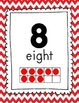 Math Bulletin Board - Red