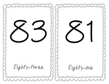 Number Line (Odd Numbers)