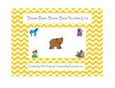 Number Line 1 - 10 Brown Bear Brown Bear Theme