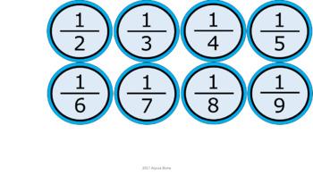 Number Line 1-100 & Decimals - Aqua Border