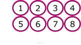 Number Line 1-100 & Decimals - Black & Pink