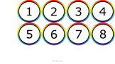 Number Line 1-100 & Decimals - Noah's Rainbow