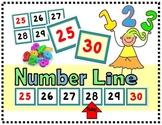 Number Line (1-150)  K.CC.A.1
