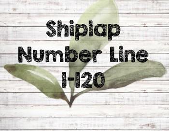 Farmhouse Number Line 1-120