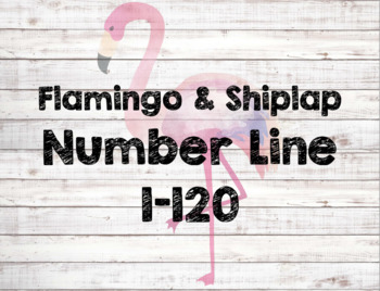 Number Line 1-120 ~ Flamingos