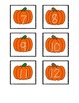 Pumpkin Number Line 1-20 for Linking with Links