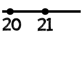 Number Line 1-30