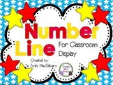 Number Line 1 to 100: For Classroom Display