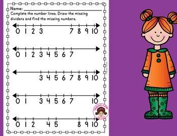 Number Line Worksheets