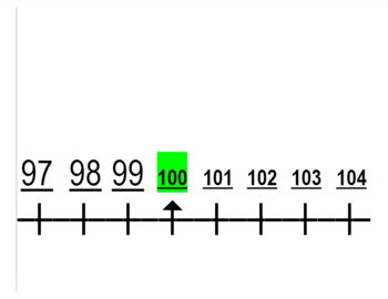 Number Line -15 to 1000