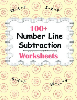Number Line Subtraction Worksheets