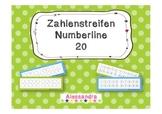 Number Line, 20 Frame, Zahlenstreifen bis 20