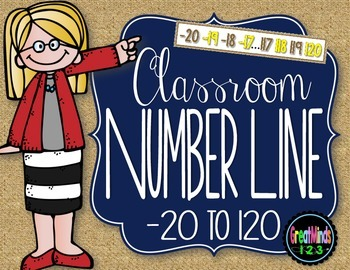 Number Line {-20 to 120}