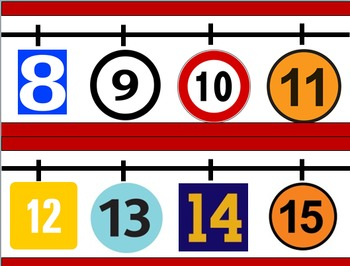 Number Line -20 to 20