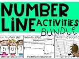 Number Line Activities Bundle