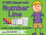 Number Lines, Cards, Activities, & Printables