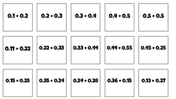 Number Line Activity