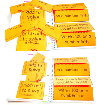 Number Line: Add, Subtract, Represent Numbers  2.MD.B.6 Common Core Math 2nd Gr
