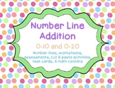 Number Line Addition Activities