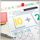 Number Line Reference Cards and Addition Game