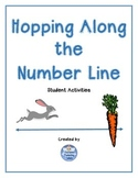 Number Line Addition Hopping Along the Number Line Student