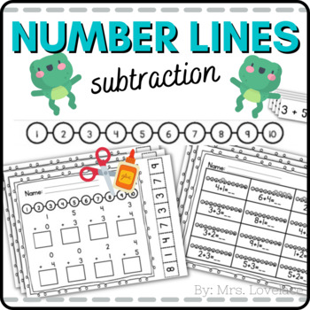 Number Line Addition:  Hopping Bunny!