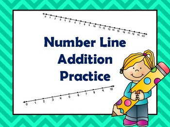Number Line Addition Practice