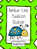 Number Lines: Addition Station