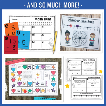 Number Line Addition & Subtraction
