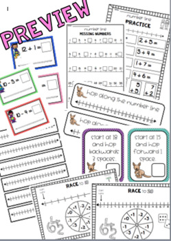 Number Line Addition & Subtraction Mega Pack (Numbers to 20)