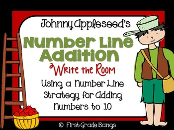Number Line Addition Write the Room