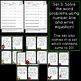 Number Line Addition: Write the Room Task Cards [6 sets]