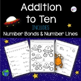 Addition to 10 with Number Bonds and Number Lines