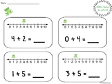 Number Line Addition and Subtraction within 10!