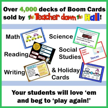 #springintosavings Number Line Bundle BOOM Cards (Whole #s, Fractions, Decimals)