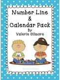 Number Line & Calendar Pack