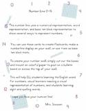 Number Line Cards (3 Ways)