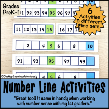 Number Line Challenge Activities