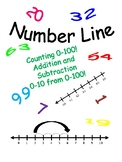 Number Line: Counting 0-100 and Addition and Subtraction 0