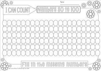 {Number order 1-120} {numbers 1-120} {number practice}