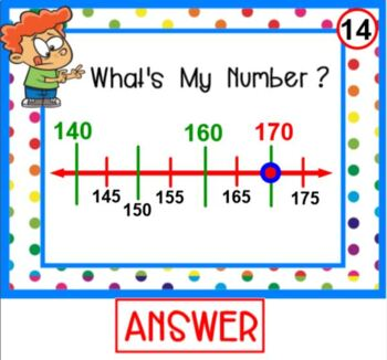 Number Line Counting PLUS PRINTABLE card set